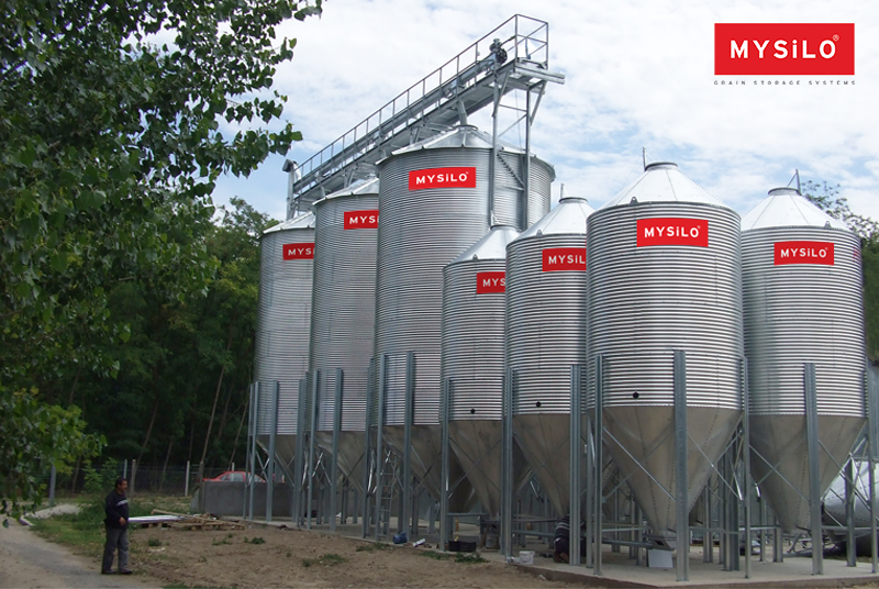 Mysilo | Economic Hopper Base Silos