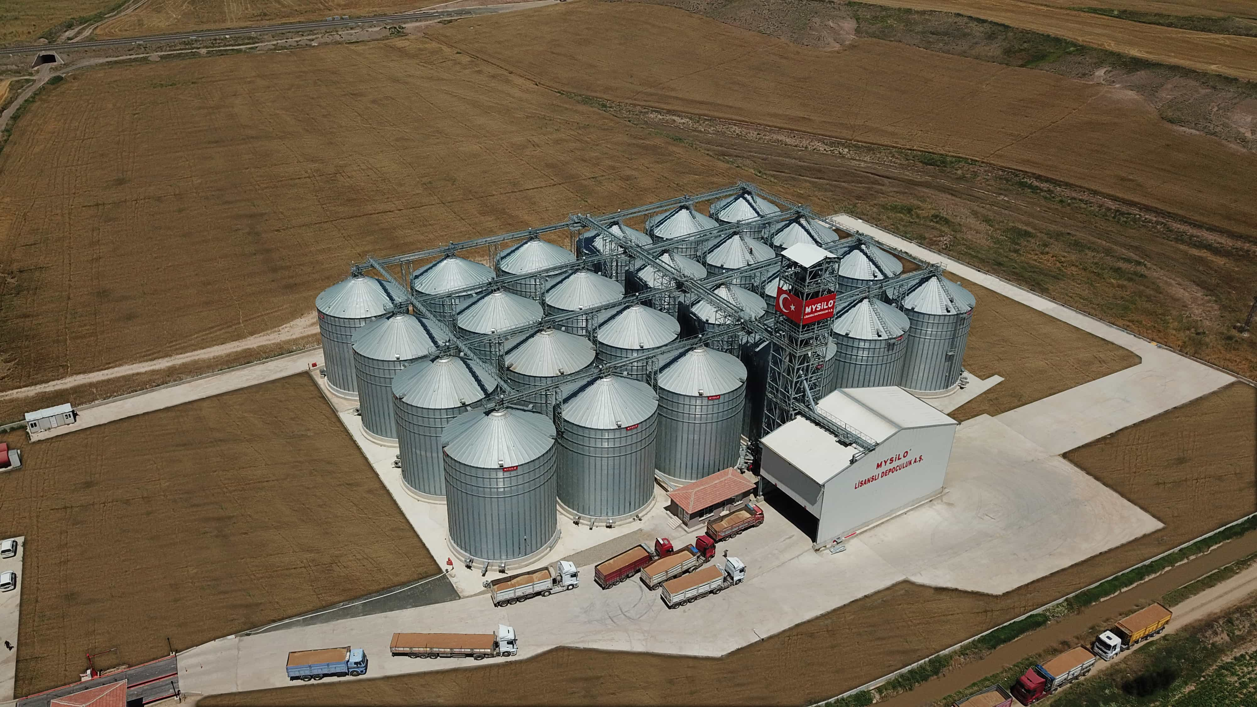 30 MILLION TONS OF GRAIN IS STORED IN MYSILO...