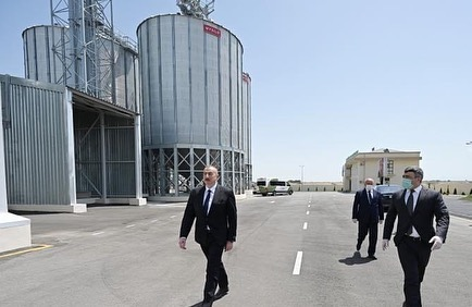 The President of Azerbaijan Realized the Opening of the Facility.